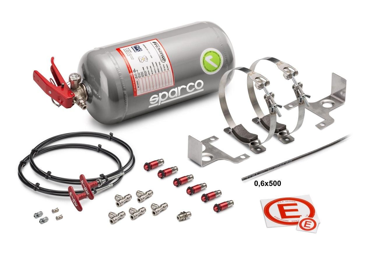 System gaśniczy Sparco (01496MSL) - GRUBYGARAGE - Sklep Tuningowy